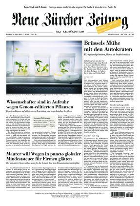 Neue Zürcher Zeitung (09.04.2021)