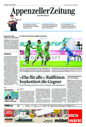 Appenzeller Zeitung (09.04.2021)