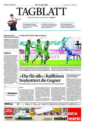 St. Galler Tagblatt (09.04.2021)