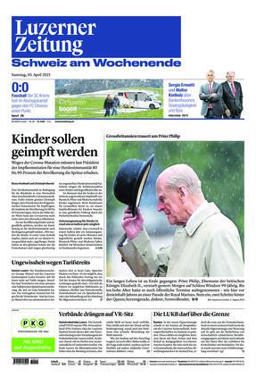 Luzerner Zeitung (10.04.2021)