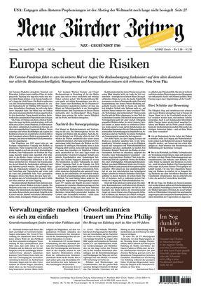 Neue Zürcher Zeitung (10.04.2021)