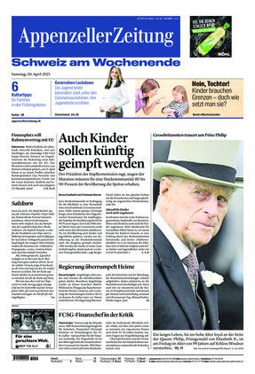 Appenzeller Zeitung (10.04.2021)