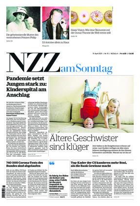 NZZ am Sonntag (11.04.2021)