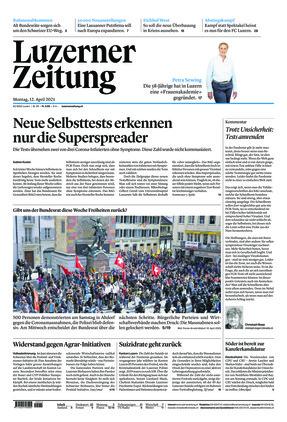 Luzerner Zeitung (12.04.2021)