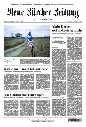 Neue Zürcher Zeitung (12.04.2021)