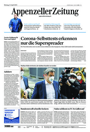Appenzeller Zeitung (12.04.2021)