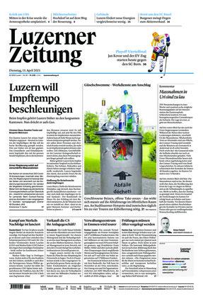 Luzerner Zeitung (13.04.2021)