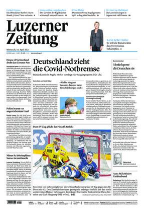 Luzerner Zeitung (14.04.2021)