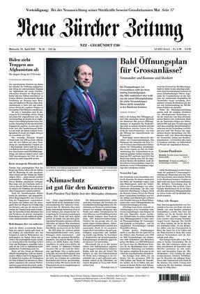 Neue Zürcher Zeitung (14.04.2021)