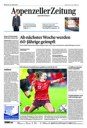 Appenzeller Zeitung (14.04.2021)