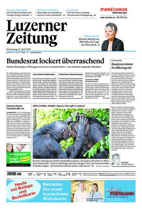 Luzerner Zeitung (15.04.2021)