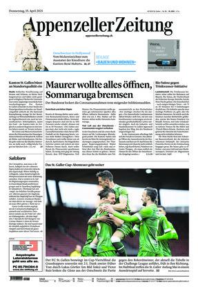 Appenzeller Zeitung (15.04.2021)