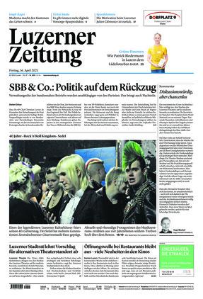 Luzerner Zeitung (16.04.2021)