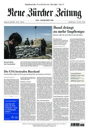 Neue Zürcher Zeitung (16.04.2021)