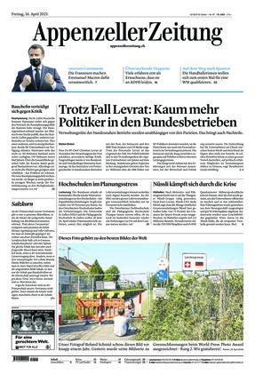Appenzeller Zeitung (16.04.2021)