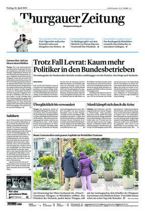 Thurgauer Zeitung (16.04.2021)
