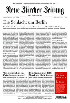 Neue Zürcher Zeitung (17.04.2021)