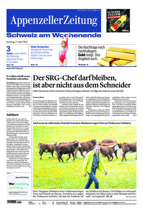 Appenzeller Zeitung (17.04.2021)