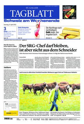 St. Galler Tagblatt (17.04.2021)