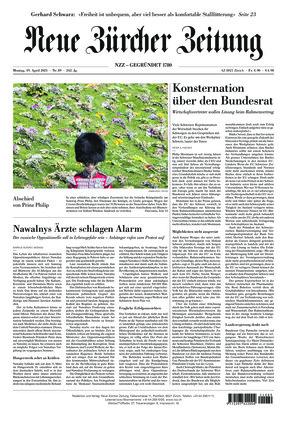 Neue Zürcher Zeitung (19.04.2021)