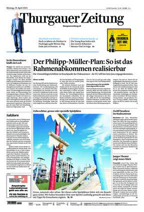 Thurgauer Zeitung (19.04.2021)
