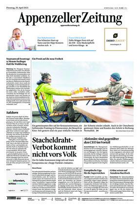 Appenzeller Zeitung (20.04.2021)