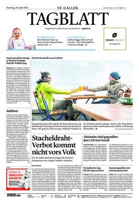 St. Galler Tagblatt (20.04.2021)