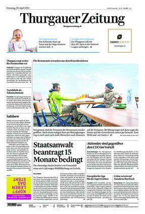 Thurgauer Zeitung (20.04.2021)