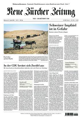 Neue Zürcher Zeitung (21.04.2021)