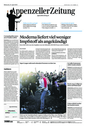 Appenzeller Zeitung (21.04.2021)