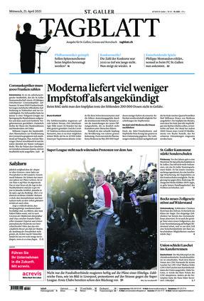 St. Galler Tagblatt (21.04.2021)