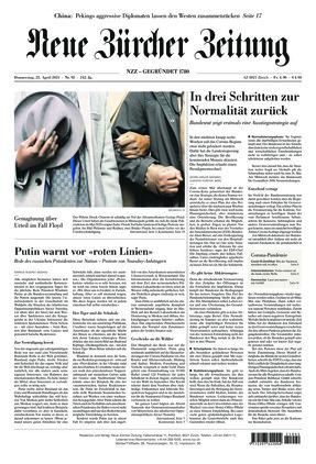 Neue Zürcher Zeitung (22.04.2021)