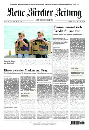 Neue Zürcher Zeitung (23.04.2021)