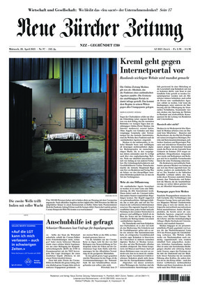 Neue Zürcher Zeitung (28.04.2021)