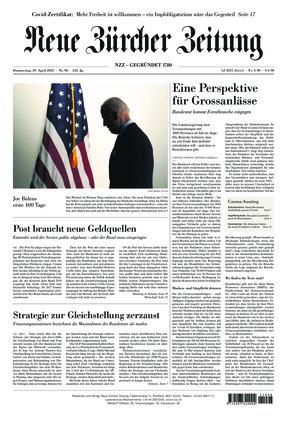 Neue Zürcher Zeitung (29.04.2021)