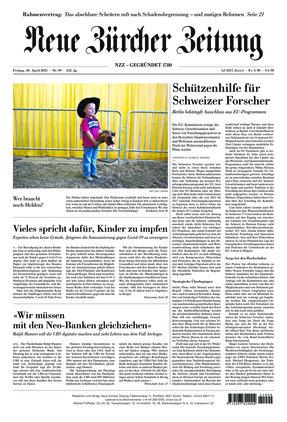 Neue Zürcher Zeitung (30.04.2021)
