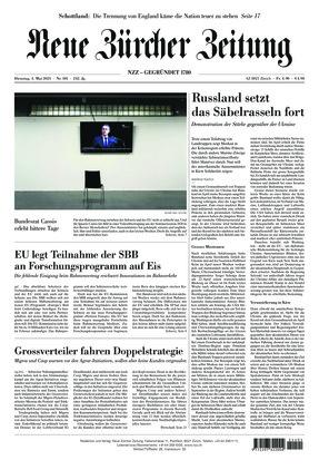 Neue Zürcher Zeitung (04.05.2021)