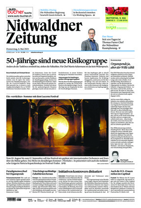 Nidwaldner Zeitung (06.05.2021)