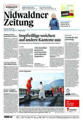 Nidwaldner Zeitung (07.05.2021)