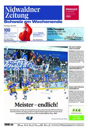 Nidwaldner Zeitung (08.05.2021)