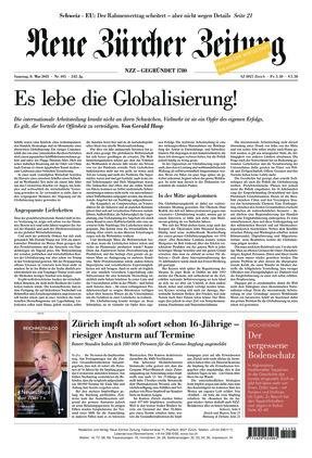 Neue Zürcher Zeitung (08.05.2021)