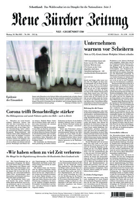 Neue Zürcher Zeitung (10.05.2021)