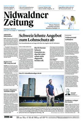 Nidwaldner Zeitung (11.05.2021)