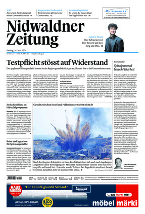 Nidwaldner Zeitung (14.05.2021)