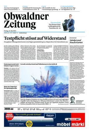 Obwaldner Zeitung (14.05.2021)
