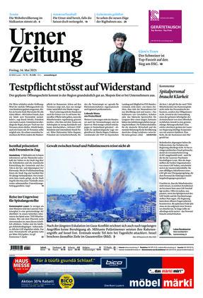 Urner Zeitung (14.05.2021)