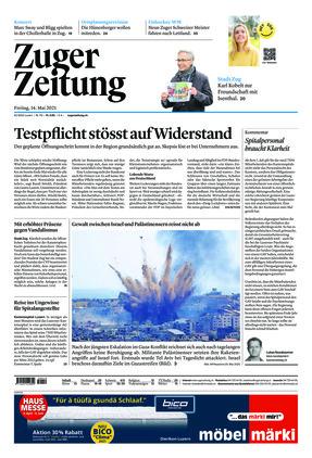 Zuger Zeitung (14.05.2021)