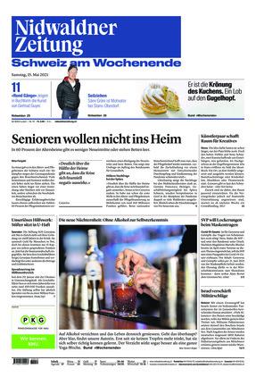 Nidwaldner Zeitung (15.05.2021)