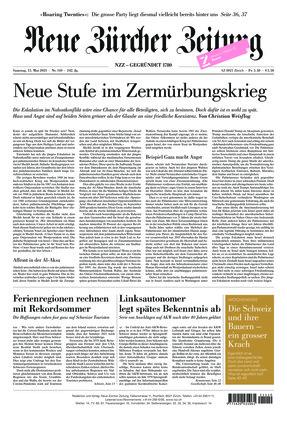 Neue Zürcher Zeitung (15.05.2021)
