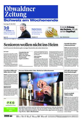 Obwaldner Zeitung (15.05.2021)